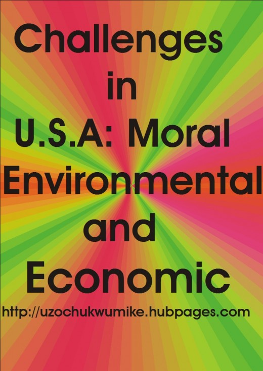The economic, environmental and Moral Challenges in United States