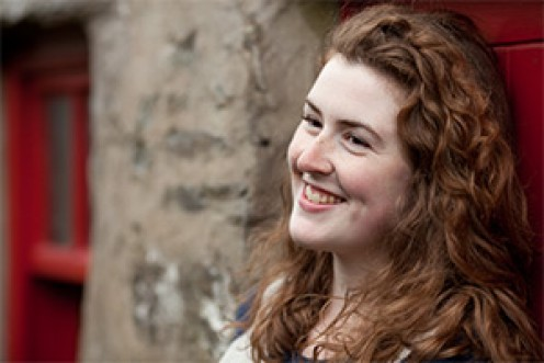 Ruth Keggin, present day Manx Gaelic singer.