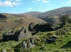 Killabrega Farm, abandoned, on the Isle of Man