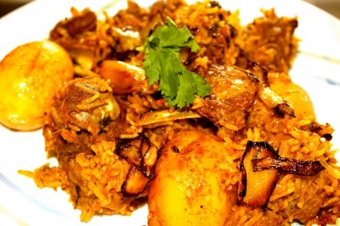 Fusion Hyderabadi Biriyani