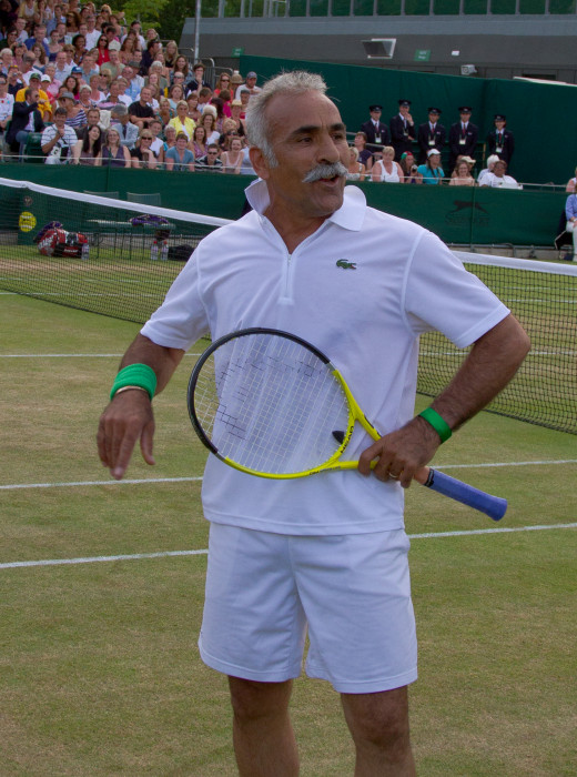 Bahrami talk - Wimbledon 2010- Facial expression