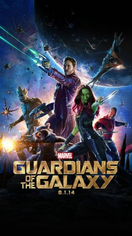 Guardians of the Galaxy is rated PG-13.