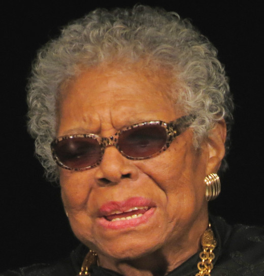 Maya Angelou born Marguerite Annie Johnson; April 1928 to May 2014 was a renowned African-American author, dancer poet and actress.