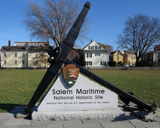 The Salem Maritime base at Derby Wharf