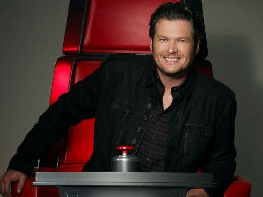 Blake Shelton on 'The Voice'.