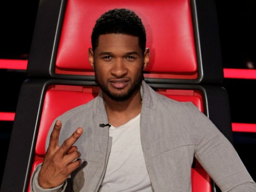 Usher on 'The Voice'.