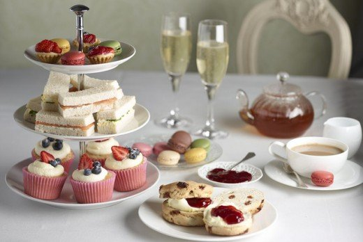 61c7f9f9d However, some light teas offer scones or petite fours in place of finger  sandwiches. In essence, instead of three or four course tea meal, it just  includes ...