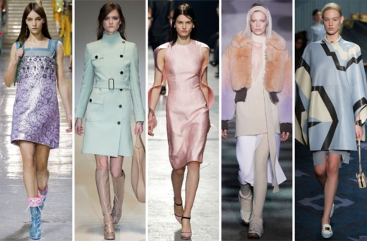 From left: Miu Miu, Gucci, Christopher Kane, Marc Jacobs and Tod's.