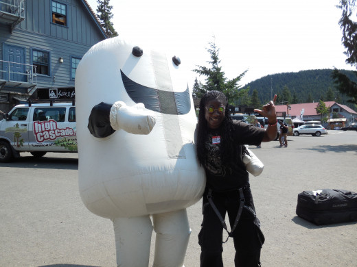 Here I am, with The Marshmallow! (HCSC icon).