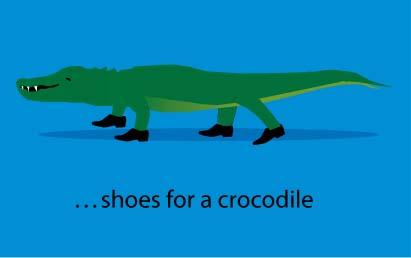 Adding humour via a slide