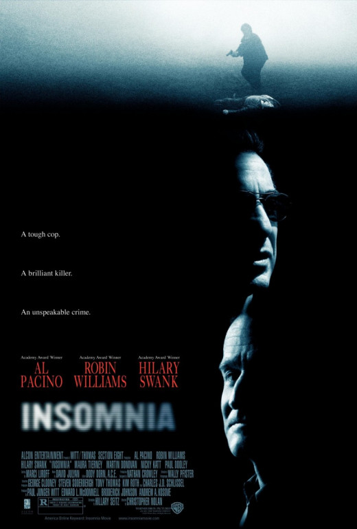 "Al Pacino and Robin Williams in ""Insomnia"""