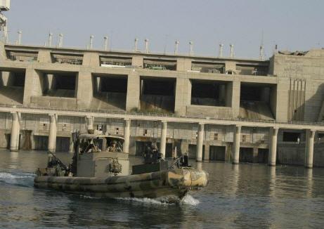 Haditha Dam on the Euphrates River