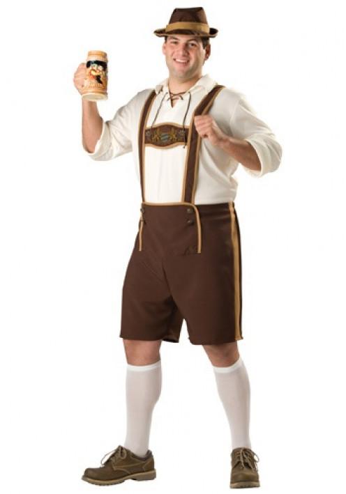 A Bavarian Lederhosen Costume.