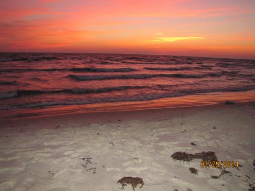 Sunset at Cape San Blas - St. Joseph Peninsula State Park, Florida