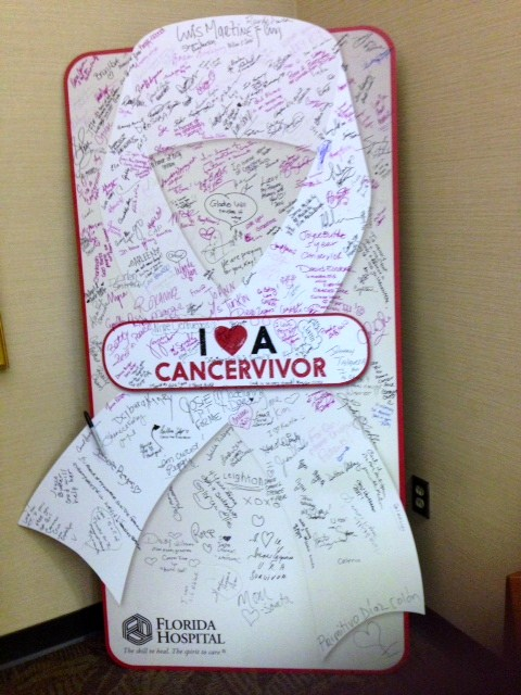 Tribute to Cancervivors via Florida Hospital Cancer Institute