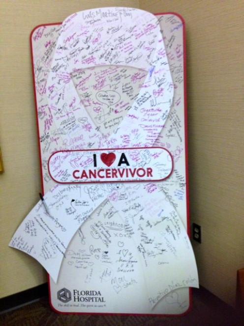 Tribute to Cancervivors via Florida Hospital Cancer Institute