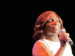 "Stephanie Mills, did an amazing performance of her hits such as ""Home"" and ""The Way You Make Me Feel."""