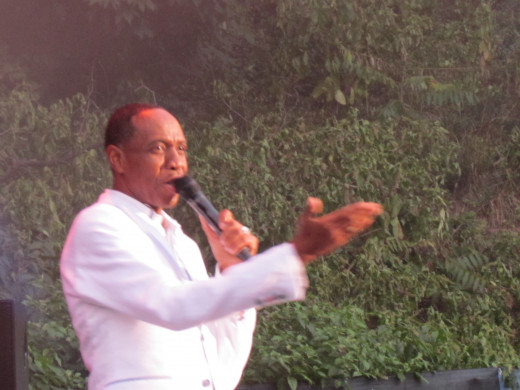 """The very talented Freddie Jackson, sang his hits such as """"Jam Tonight and Tasty Love."""""""