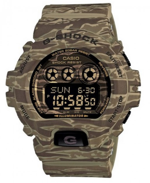 Camouflage Watch