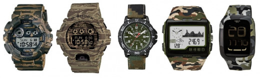 The Best Five Camouflage Watches