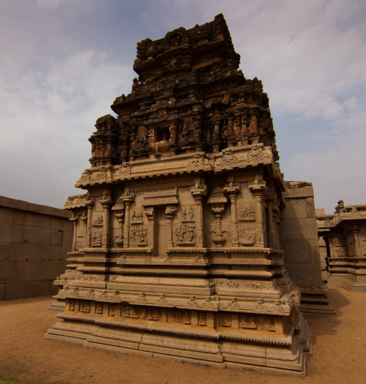 Saraswati Temple, Kedrampura, Bellary district in Karnataka