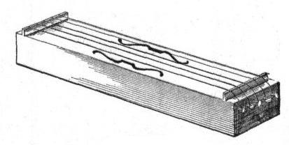 An instrument played by the wind.  The only AE word that makes the A say its name.