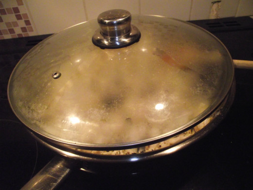 allow to simmer to release the flavours
