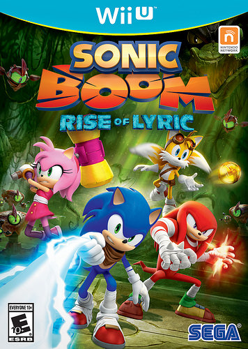 The cover to Sonic Boom on the Wii U.