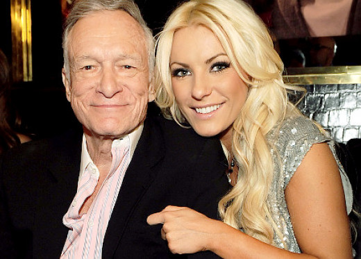 Hefner and Crystal Harris