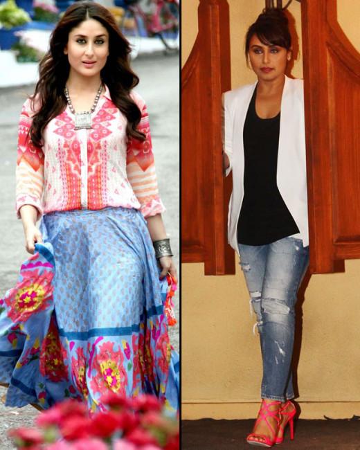 Bollywood actress Kareena Kapoor recently took a dig at Rani Mukherji Mardaani look.Watch full video on Biscoot Showtym.
