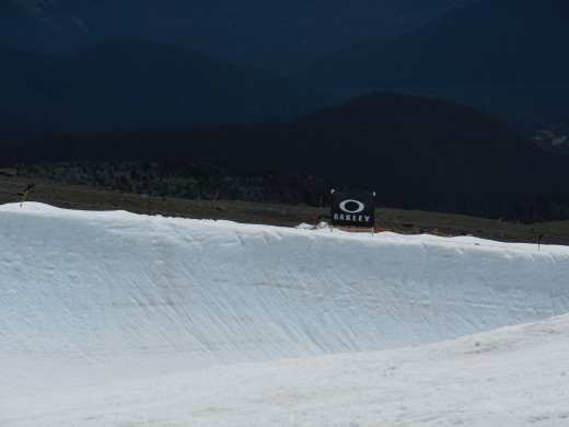 The big halfpipe