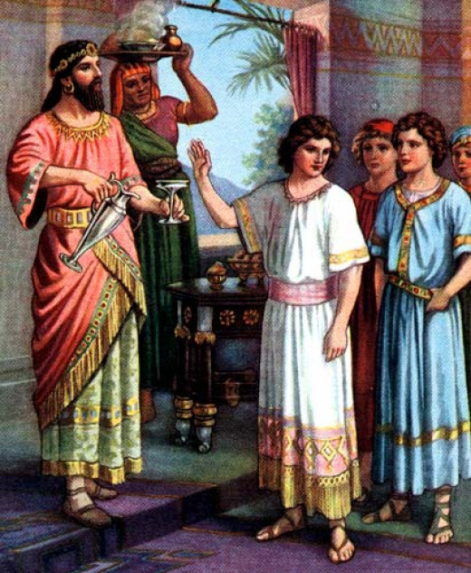 Daniel and Nebuchadnezzar
