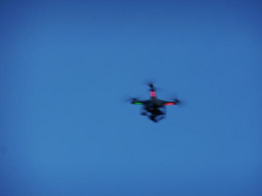 The aerial camera