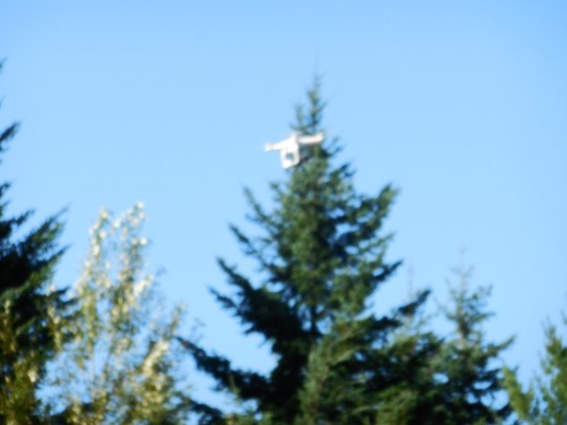 Another view of the aerial camera