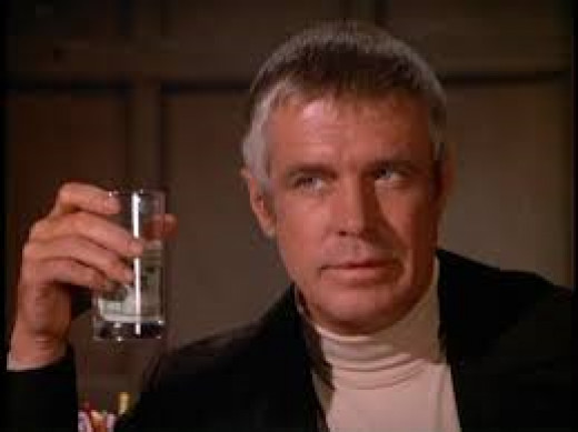 From the TV series called Banacek. George Peppard plays Banacek.