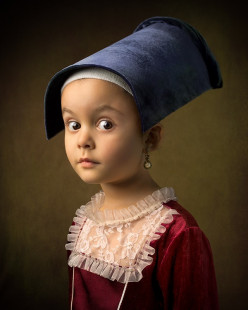 Photo Recreations of Classical Works of Art