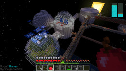 Space Stations happen when you lose control modding a fairly straightforward video game like Minecraft.