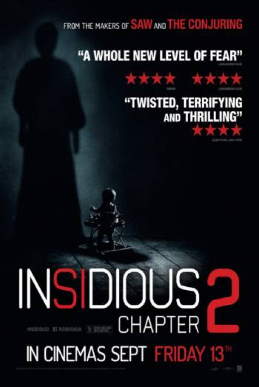 "Patrick Wilson and Rose Byrne in ""Insidious: Chapter 2"""