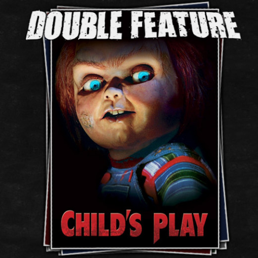 "Catherine Hicks and Brad Dourif  in ""Child's Play"""