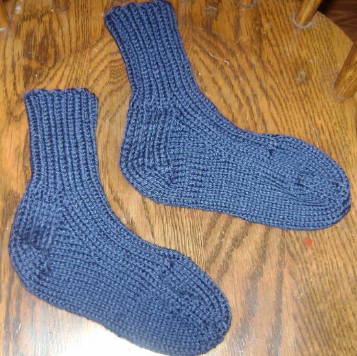 Light Worsted Socks