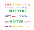 Get Well Soon Wishes for a Friend