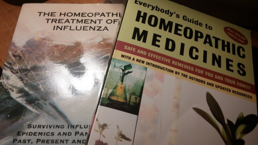 Learning about homeopathy.