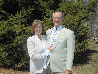Pastor Larry Richmond and wife Evalynn