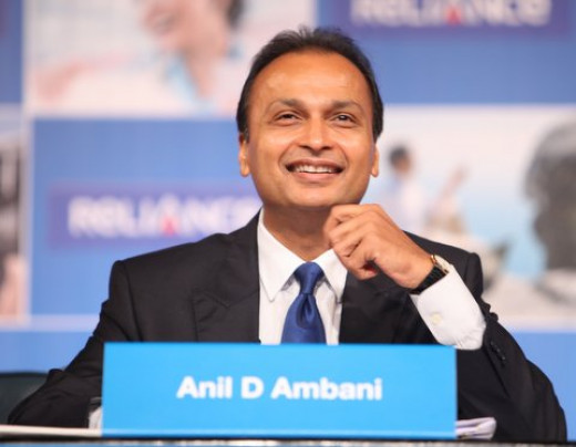 Mr Anil Ambani during 2012 Reliance Group AGM at Mumbai