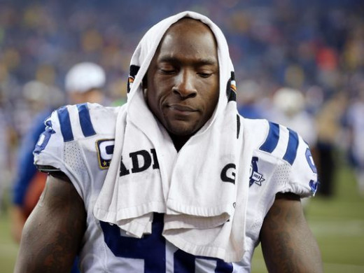 Robert Mathis was suspended four games for using a fertility drug to help his wife become pregnant.  Ray Rice knocks his girlfriend unconscious and receives a two game suspension?