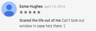 Slender Man Review on Google Play