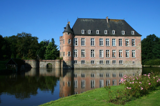 Braine Castle in Belgium