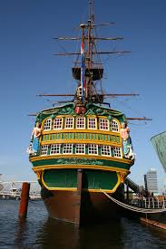 Replica Of Ancient Dutch Trading Ship, Amsterdam
