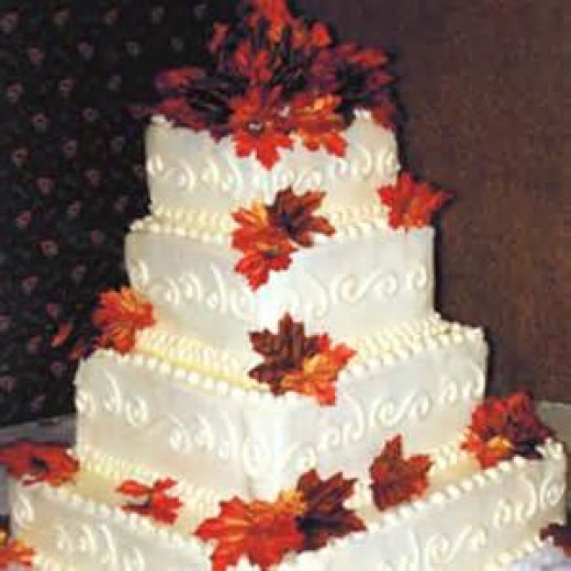 Fall Specialty Tier Cake