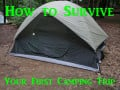 How to Survive Your First Camping Trip